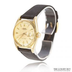 Rolex Vintage Gold Oyster Perpetual Datejust Watch Ref 6605 Order Online Today For Next Day