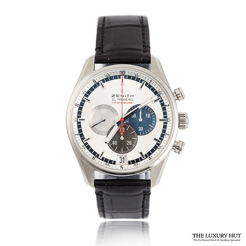 Zenith EI Primero Striking 10th Chronograph Ref: 03.2041.4052 Order Online Today For Next Day Delivery - Sell Your Zenith Watch To The Luxury Hut London