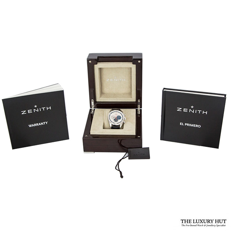 Zenith EI Primero Striking 10th Chronograph Ref: 03.2041.4052 Order Online Today For Next Day Delivery - Sell Your Zenith