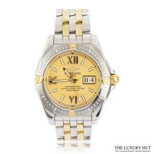 Breitling Cockpit Steel & Gold Chronometer Watch Ref B49350 - Order Online Today For Next Day Delivery