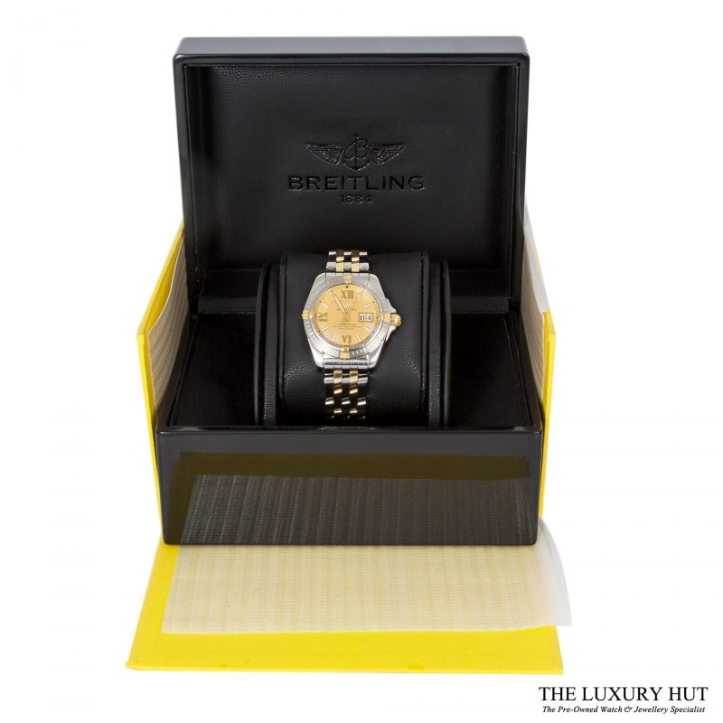 Breitling Cockpit Steel & Gold Chronometer Watch Ref B49350 - Order Online Today