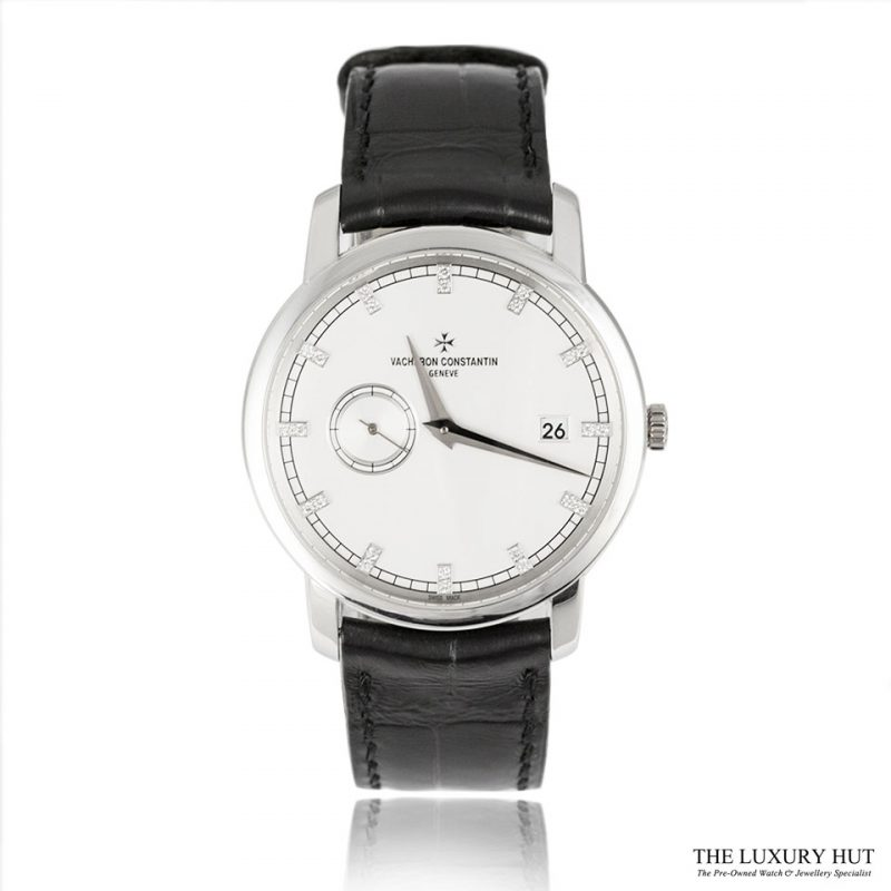 Vacheron Constantin White Gold Diamond Dial 87172 Order Online Today For Next Day Delivery - Sell Your Vacheron Constantin Watch To The Luxury Hut London