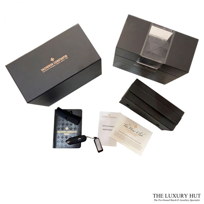 Vacheron Constantin White Gold Diamond Dial 87172 Order Online Today For Next Day Delivery - Sell