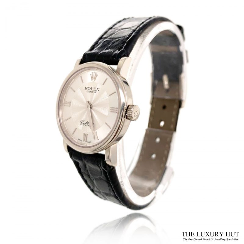 Rolex Cellini 18ct White Gold 2013 Full Set Ref 6110/9 Order Online Today For Next Day Delivery - Sell Your Rolex Watch To The Luxury Hut