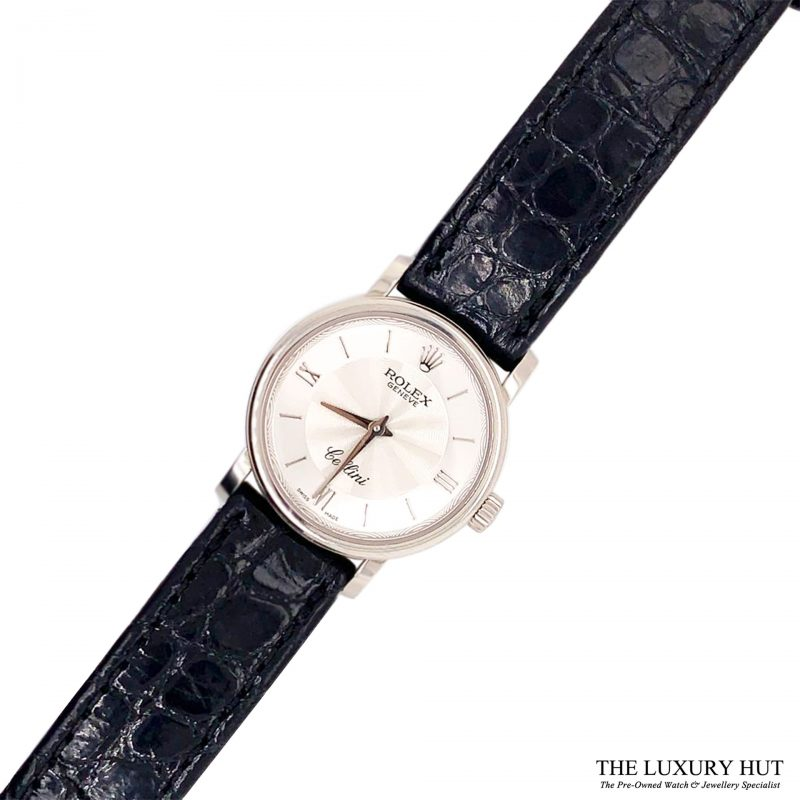 Rolex Cellini 18ct White Gold 2013 Full Set Ref 6110/9 Order Online Today