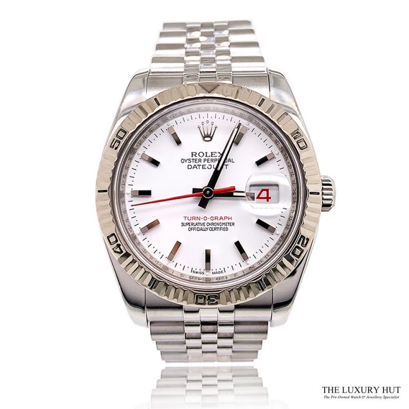 Rolex Datejust Turn-O-Graph Watch Ref: 116264 Order Online Today For Next Day Delivery - Sell Your Rolex Watch To The Luxury Hut London