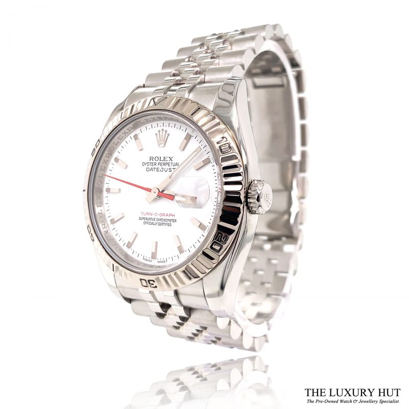 Rolex Datejust Turn-O-Graph Watch Ref: 116264 Order Online Today For Next Day Delivery - Sell Your Rolex Watch To The Luxury Hut