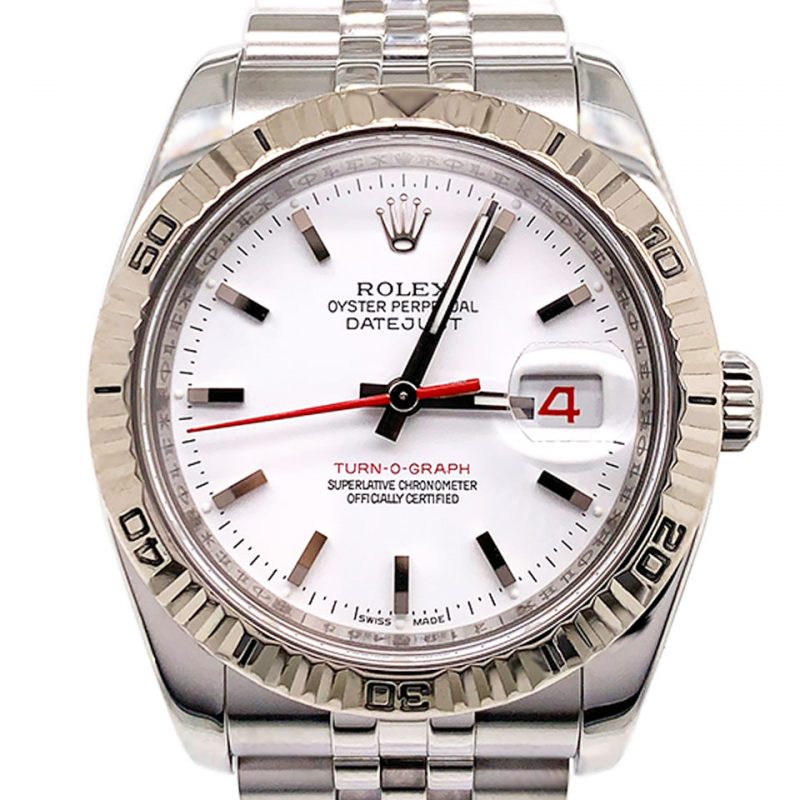 Rolex Datejust Turn-O-Graph Watch Ref: 116264 Order Online Today