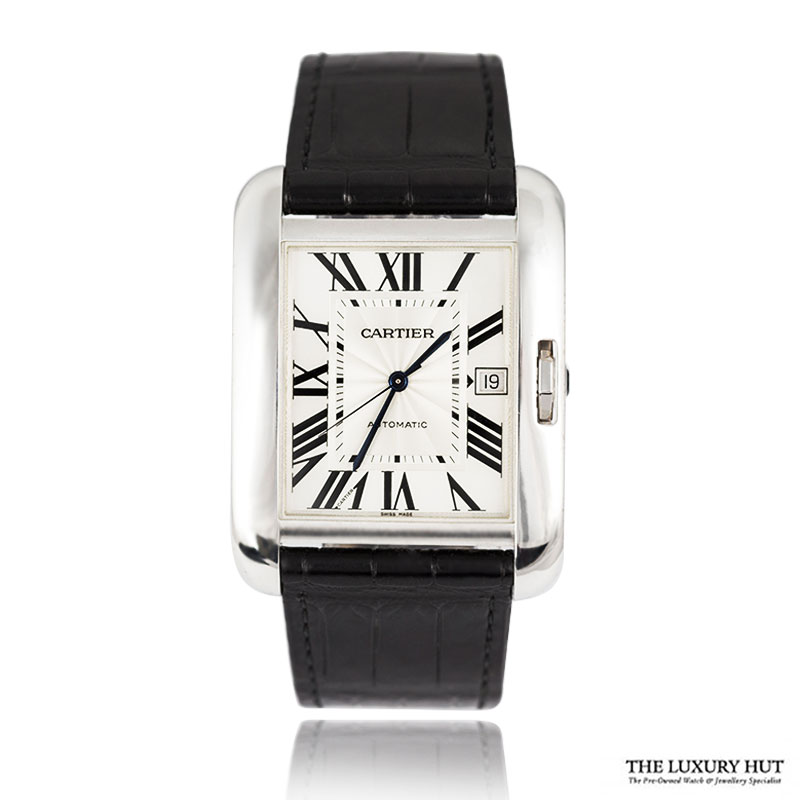 Cartier Tank Anglaise 18ct White Gold - Full Set Ref W5310033 Order Online Today For Next Day Delivery - Sell Your Cartier Watch To The Luxury Hut London