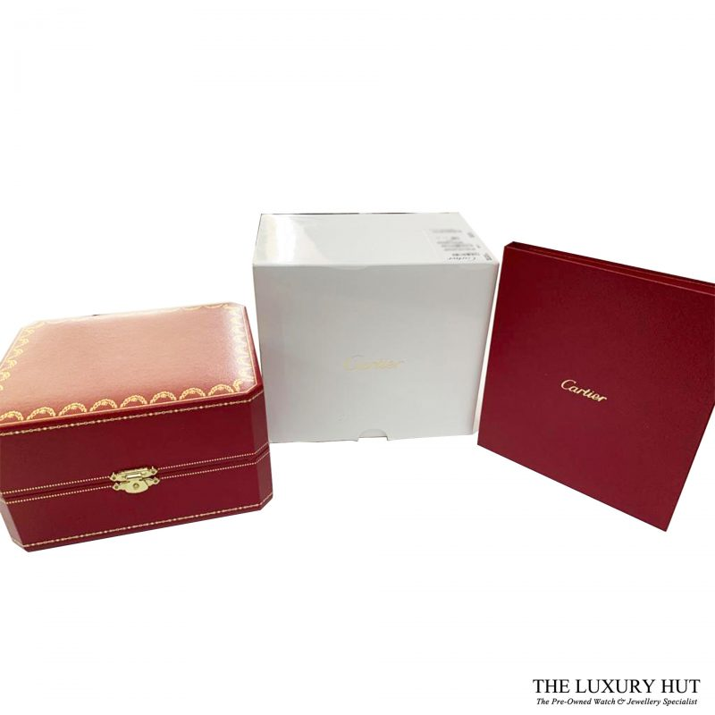 Cartier Tank Anglaise 18ct White Gold - Full Set Ref W5310033 Order Online Today