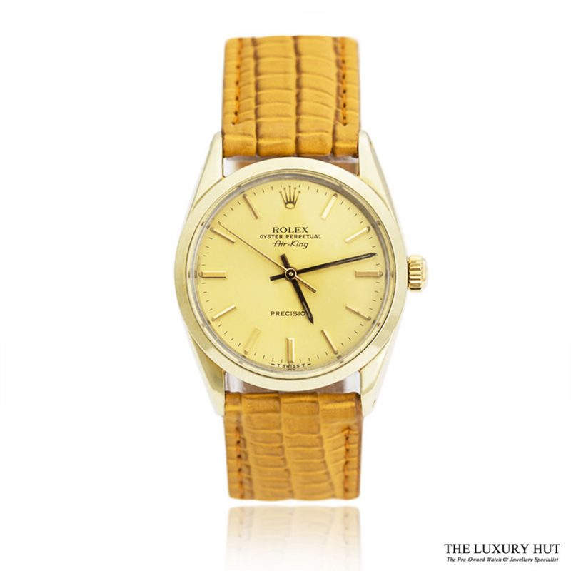 Rolex Steel Gold Capped Air King Watch Full Set - Ref 5520 Order Online Today For Next Day Delivery - Sell Your Rolex Watch To The Luxury Hut London