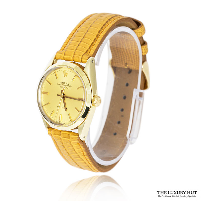 Rolex Steel Gold Capped Air King Watch Full Set - Ref 5520 Order Online Today For Next Day Delivery - Sell Your Rolex Watch To The Luxury Hut