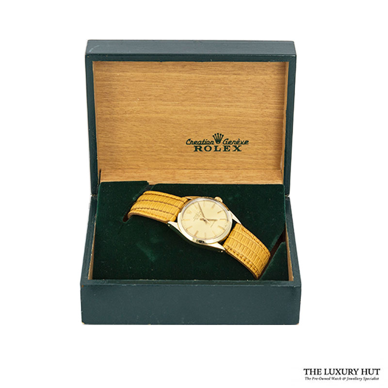 Rolex Steel Gold Capped Air King Watch Full Set - Ref 5520 Order Online Today