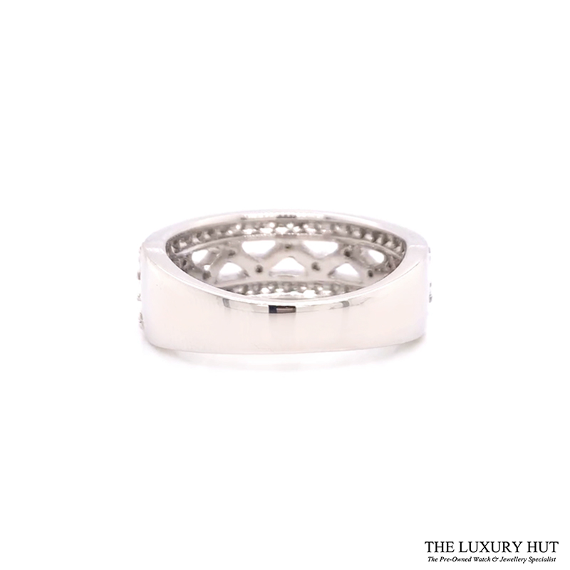9ct White Gold Certified 1.30ct Diamond Band Ring Ref 24189 Order Online Today