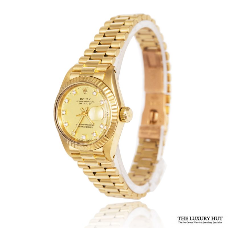 Rolex Ladies Rare Gold DateJust 1981 Watch Ref 6917 Order Online Today For Next Day Delivery - Sell Your Rolex Watch To The Luxury Hut