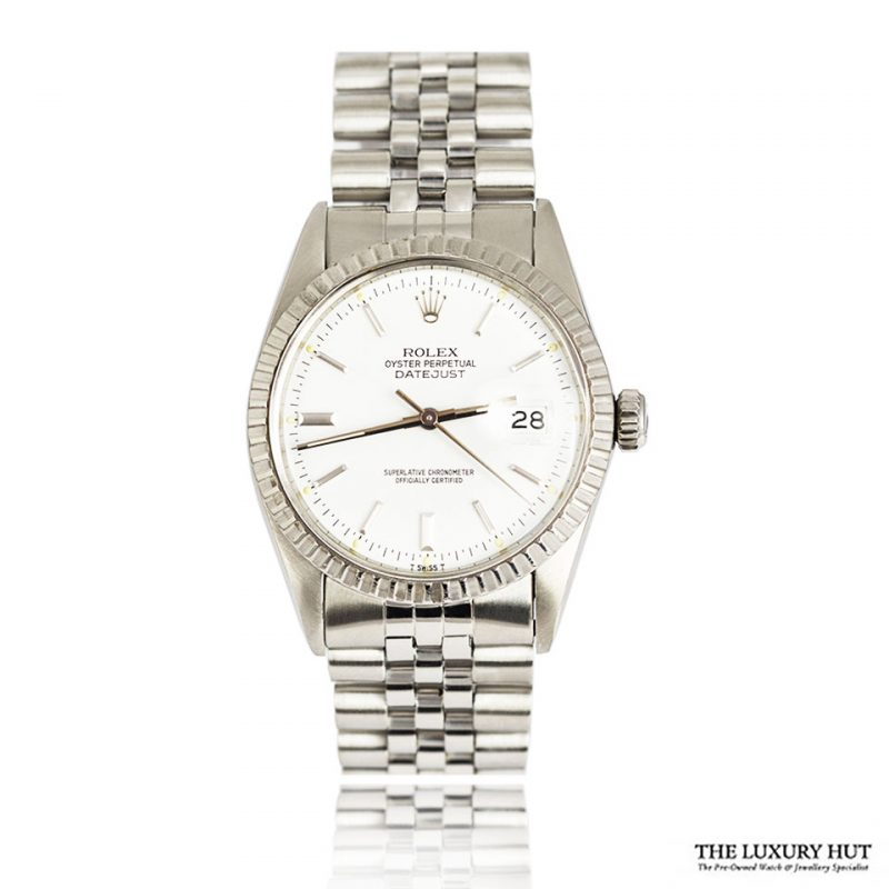 Rolex Steel Oyster Perpetual DateJust Watch Ref 16030 Order Online Today For Next Day Delivery - Sell Your Rolex Watch To The Luxury Hut London