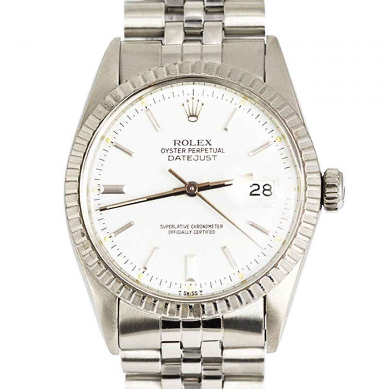 Rolex Steel Oyster Perpetual DateJust Watch Ref 16030 Order Online Today