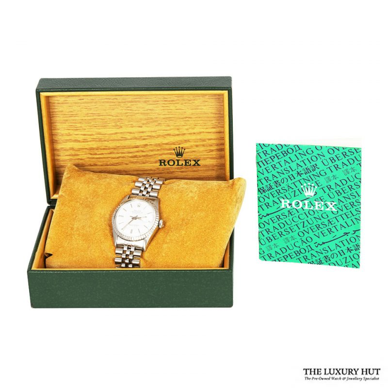 Rolex Steel Oyster Perpetual DateJust Watch Ref 16030 Order Online Today For Next Day Delivery - Sell Your Rolex Watch