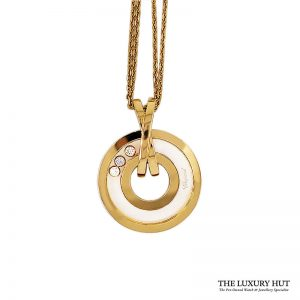 Shop Chopard 18ct Yellow Gold Happy Diamonds Pendant Order Online Today For Next Day Delivery - Sell Your Chopard Jewellery To The Luxury Hut London