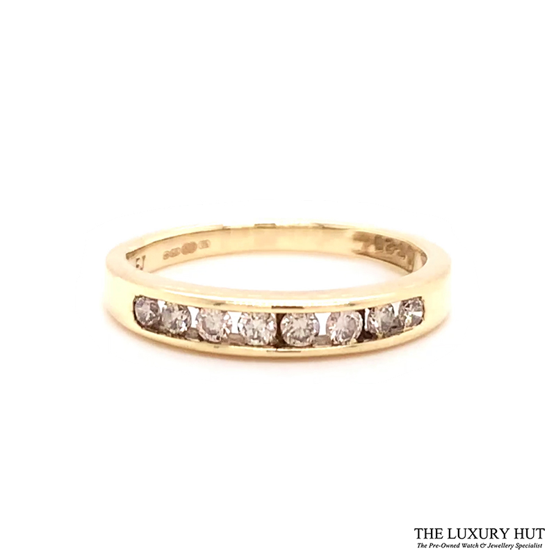 9ct Gold Certified 0.40ct Diamond Eternity Ring Ref 24493 Order Online Today For Next Day Delivery - Sell Your Diamond Ring To The Luxury Hut London