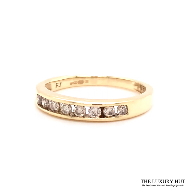 9ct Gold Certified 0.40ct Diamond Eternity Ring Ref 24493 Order Online Today For Next Day Delivery - Sell Your Diamond Ring To The Luxury Hut