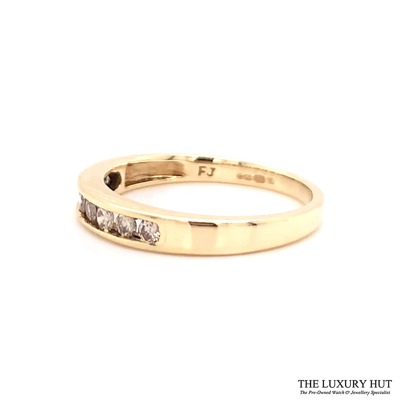 9ct Gold Certified 0.40ct Diamond Eternity Ring Ref 24493 Order Online Today For Next Day Delivery - Sell