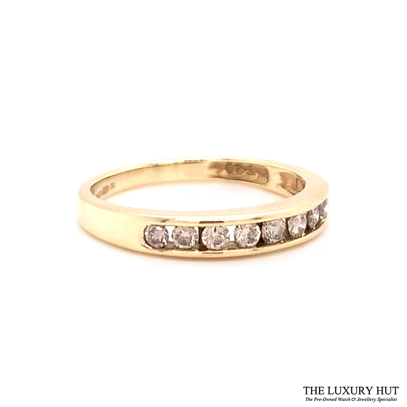 9ct Gold Certified 0.40ct Diamond Eternity Ring Ref 24493 Order Online
