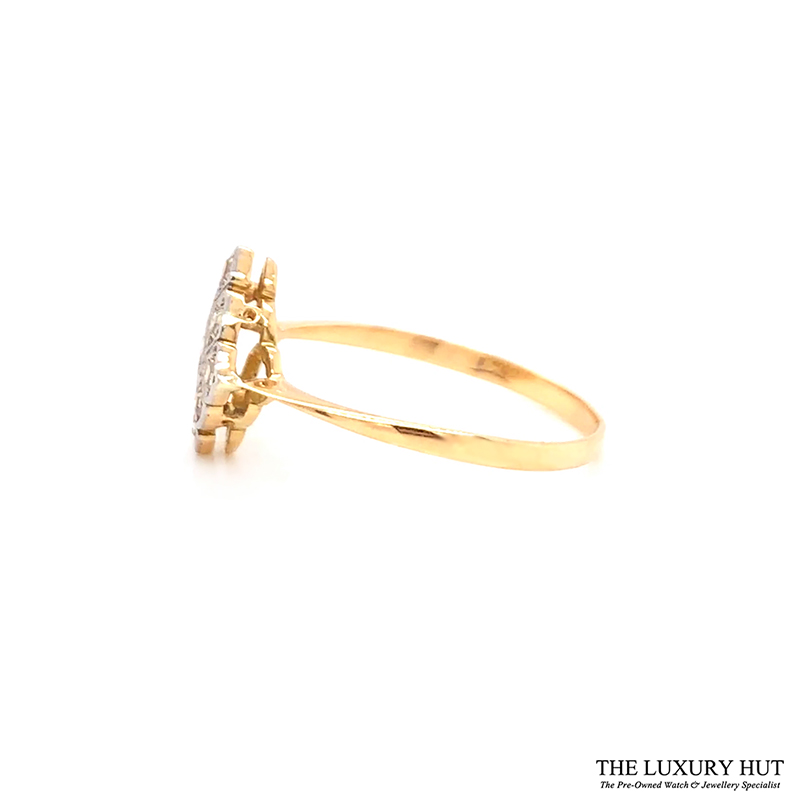 18ct Gold Certified 0.33ct Diamond Engagement Ring Ref 24509