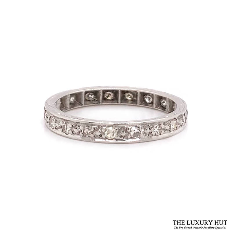 18ct Gold Certified 0.40ct Diamond Full Eternity Ring Ref 24660 Order Online Today For Next Day Delivery