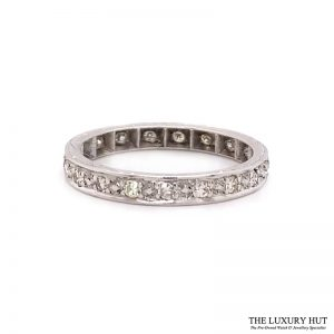 18ct Gold Certified 0.40ct Diamond Full Eternity Ring Ref 24660 Order Online Today