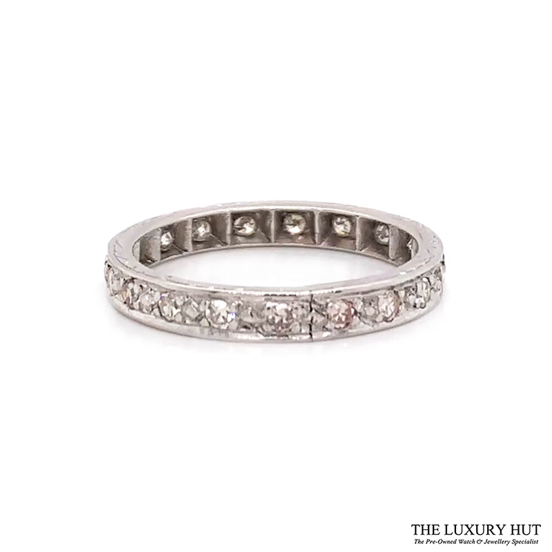 18ct Gold Certified 0.40ct Diamond Full Eternity Ring Ref 24660