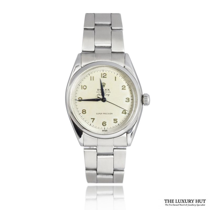 Rolex Air King Super Precision Rare Arabic Dial Watch Ref 5500 Order Online Today For Next Day Delivery
