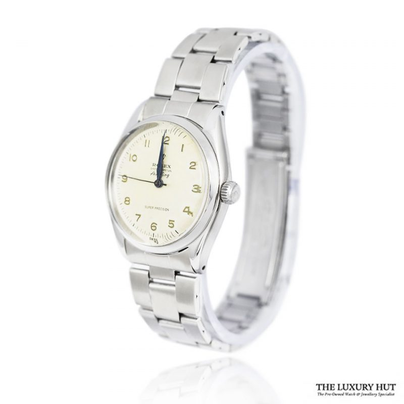 Rolex Air King Super Precision Rare Arabic Dial Watch Ref 5500 Order Online Today