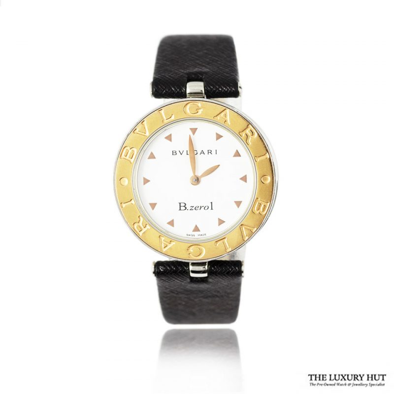 Bulgari B ZERO 1 White Dial Watch Ref B 01 Order Online Today For Next Day Delivery
