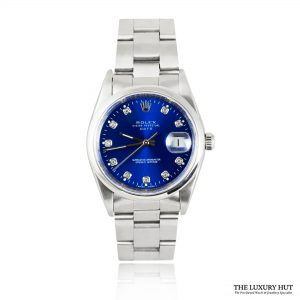 Rolex Steel Diamond Dial Oyster Perpetual Date Watch Ref 15200 Order Online Today For Next Day Delivery