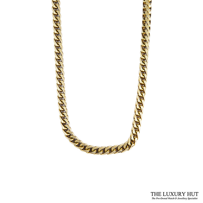 Heavy 9ct Yellow Gold Round Foxtail Link Necklet Ref 24905 Order Online Today