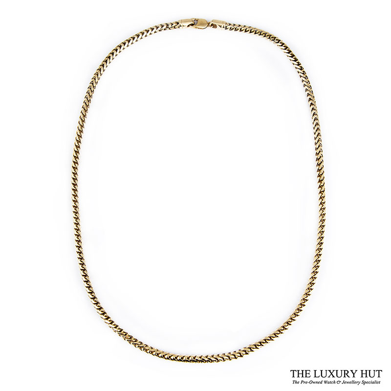 Heavy 9ct Yellow Gold Round Foxtail Link Necklet Ref 24905 Order Today