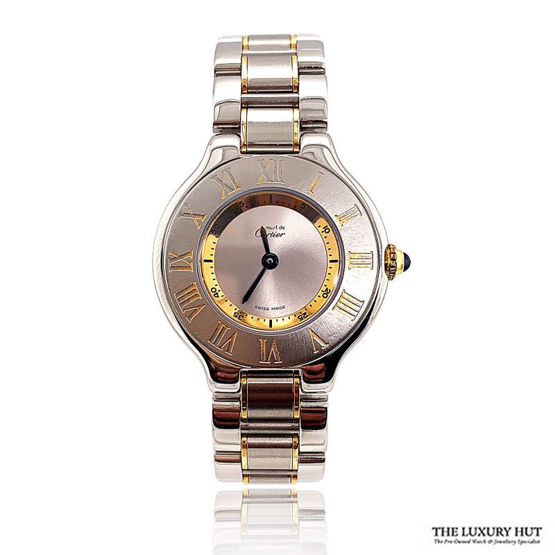 Cartier 21 Must De Cartier – Ref 1340 Order Online Today For Next Day Delivery