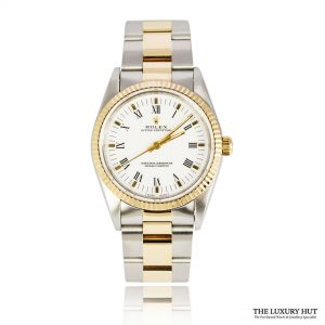 Rolex Steel & Gold Oyster Perpetual DateJust Watch Ref 14233 Order Online Today For Next Day Delivery
