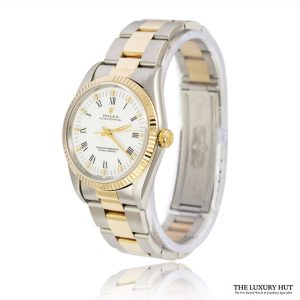 Rolex Steel & Gold Oyster Perpetual DateJust Watch Ref 14233 Order Online Today For