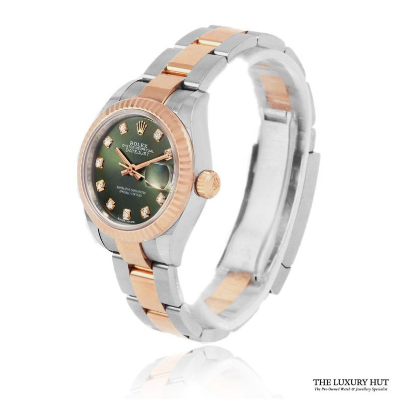Rolex Lady Datejust Ref: 279171 Olive Green Diamond Dial - Order Online Today For Next Day