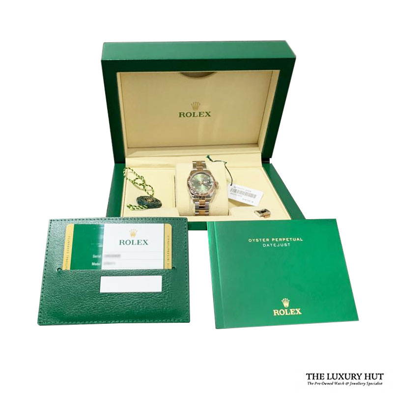 Rolex Lady Datejust Ref: 279171 Olive Green Diamond Dial - Order Online Today