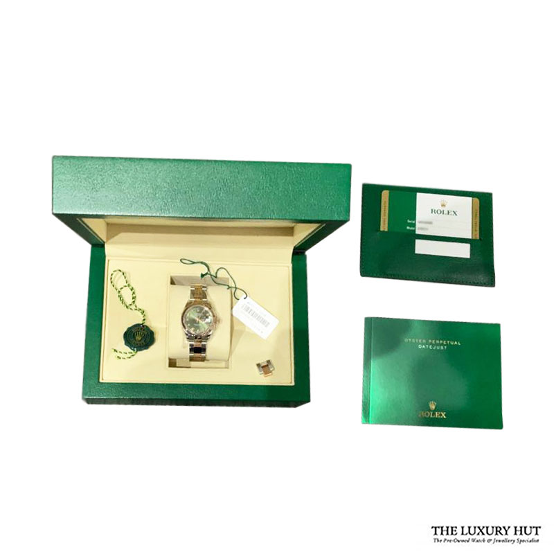 Rolex Lady Datejust Ref: 279171 Olive Green Dial