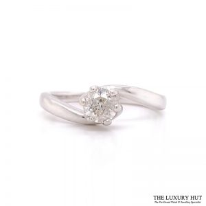 Shop Preowned Diamond Engagement Ring - Order Online Today For Next Day Delivery