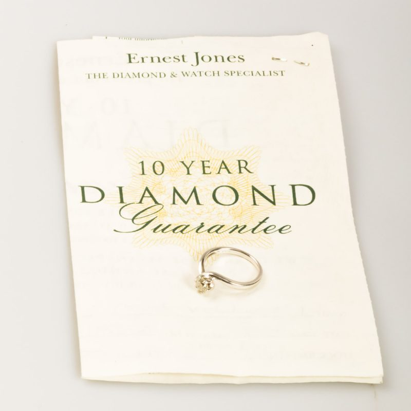 Shop Preowned Diamond Engagement Ring - Order Online