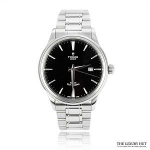 Tudor Style Steel Black Dial 41mm Ref: M12700-0011 Watch - Order