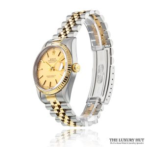 Rolex Steel & Gold Oyster Perpetual DateJust Watch Ref 16233 Order Online Today For Next Day