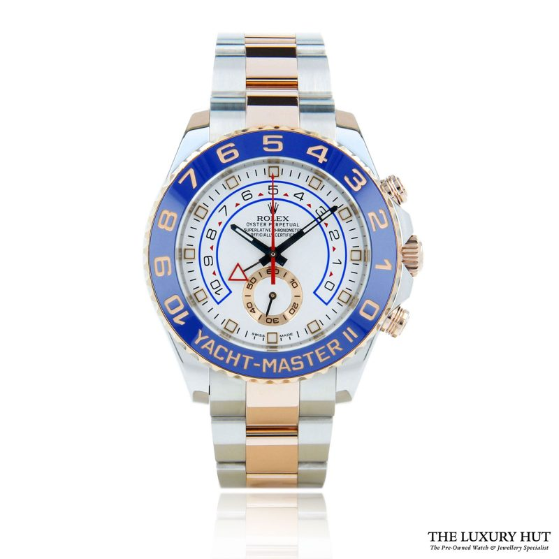 Rolex Yacht-Master II Bi-Metal Ref: 116681 Watch 2014 - Order Online Today For Next Day Delivery