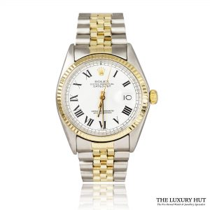 Rolex Datejust 1601 Bi-Metal Buckley Dial Oyster Perpetual ? 1978 Order Online Today For Next Day Delivery