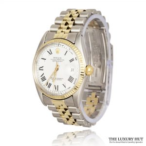 Rolex Datejust 1601 Bi-Metal Buckley Dial Oyster Perpetual ? 1978 Order Online Today For Next Day